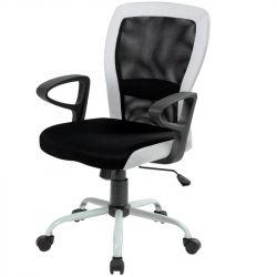 Кресло офисное Office4You LENO, Black-white