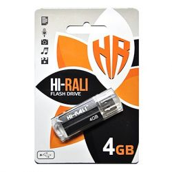 USB Flash Drive 4Gb Hi-Rali Corsair series Black, HI-4GBCORBK