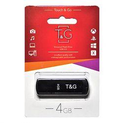 USB Flash Drive 4Gb T&G 011 Shorty series Black, TG011-4GBBK