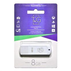 USB Flash Drive 8Gb T&G 011 Classic series White, TG011-8GBWH