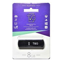 USB Flash Drive 8Gb T&G 011 Shorty series Black, TG011-8GBBK