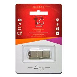 USB Flash Drive 4Gb T&G 100 Metal series, TG100-4G