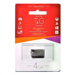 USB Flash Drive 4Gb T&G 109 Metal series Silver, TG109-4G