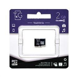 Карта памяти microSD, 2Gb, T&G, без адаптера (TG-2GBSD-00)