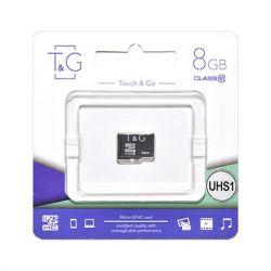 MicroSDHC   8GB UHS-I Class 10 T&G (TG-8GBSD10U1-00)