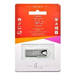 USB 4GB T&G 117 Metal Series Black (TG117BK-4G)