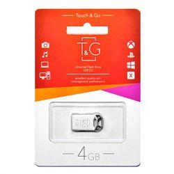 USB 4GB T&G 110 Metal Series Silver (TG110-4G)