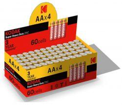 Батарейка Kodak Extra Heavy Duty AA/R06 уп. 4шт, коробка - Картинка 1
