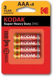 Батарейка Kodak Extra Heavy Duty AAA/R3 BL 4шт