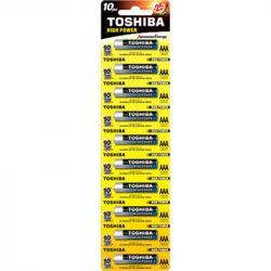 Батарейка Toshiba AAA/LR03 BL 10шт - Картинка 1