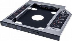 "Адаптер Grand-X HDD 2.5"" в отсек привода ноутбука SATA/SATA3 Slim 9,5mm (HDC-24C)"