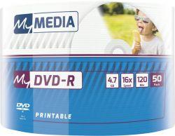 DVD+R MyMedia (69202) 4.7GB, 16x, Wrap 50шт Printable