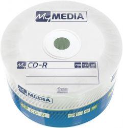 CD-R MyMedia (69201) 700MB 52x Matt Silver Wrap 50шт