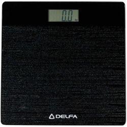 Весы напольные Delfa DBS-7118 Shine black