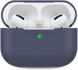 Чехол MakeFuture Silicone для Apple AirPods Pro Blue (MCL-AAPBL)