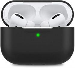 Чехол MakeFuture Silicone для Apple AirPods Pro Black (MCL-AAPBK)