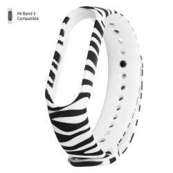 Ремешок Armorstandart для браслета Xiaomi Mi Band 5 Zebra (ARM57011)