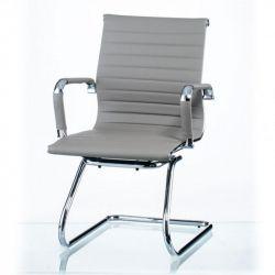 Кресло офисное Special4You Solano office artleather grey E5883