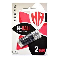 USB Flash Drive 2Gb Hi-Rali Corsair series Black, HI-2GBCORBK