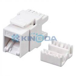 Модуль Kingda Keystone (KD-KJ5-06) RJ45 Slim, UTP, Cat 5e, Dual IDС, тип 180 - Картинка 1