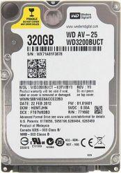 "Жесткий диск 2.5"" 320Gb Western Digital, SATA2, 16Mb, 5400 rpm (WD3200LUCT) (Ref)"