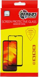 Защитное стекло Dengos для Oppo A52/A72 Black Full Glue (TGFG-126) - Картинка 1