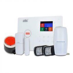 Комплект беспроводной GSM и Wi-Fi сигнализации ATIS Kit GSM+WiFi 130 с поддержкой приложения Tuya Smart