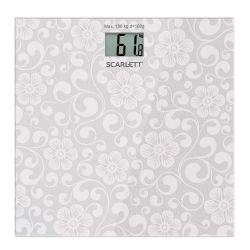 Весы напольные Scarlett SC-BS33E043, электронные, максимальный вес 180 кг, градация 100 г, стекло