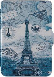 Чехол-книжка AirOn Premium для PocketBook 606/628/633 Париж (4821784622177)