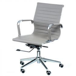Кресло офисное Special4You Solano 5 artleather grey E6071