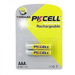 Аккумулятор PKCELL Ni-MH AAA/HR03 1200 mAh BL 2шт