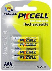 Аккумулятор PKCELL Ni-MH AAA/HR03 1200 mAh BL 4шт