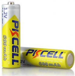 Аккумулятор PKCELL Ni-MH AA/HR06 600 mAh BL 2шт