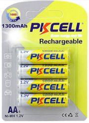 Аккумулятор PKCELL Ni-MH AA/HR06 1300 mAh BL 4шт