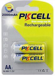 Аккумулятор PKCELL Ni-MH AA/HR06 2000 mAh BL 2шт