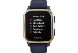 Смарт-часы Garmin Venu Sq Music Navy/Light Gold (010-02426-12) - Картинка 2