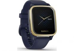 Смарт-часы Garmin Venu Sq Music Navy/Light Gold (010-02426-12) - Картинка 4