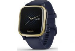 Смарт-часы Garmin Venu Sq Music Navy/Light Gold (010-02426-12) - Картинка 5