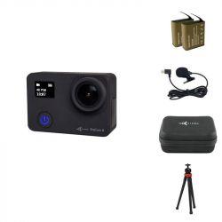 Экшн-камера AirOn ProCam 8 Black с аксессуарами 12в1 (4822356754795)