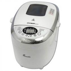 Хлебопечь First FA-5152-3 White 850W, макс.вес выпечки 5.93кг, 12 программ, дисплей, 2 лопасти, таймер, съемная антипригарная форма для хлеба, поддержания температуры