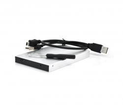 "Внешний карман Voltronic SATA HDD 2.5"", USB 2.0, Silver (U25E30/10240)"