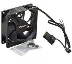 Вентилятор UPower UP8025HB34.16 80мм, 3pin+Molex