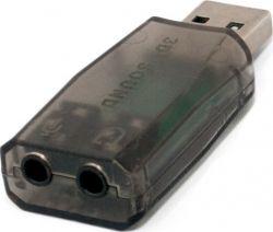 Звуковая карта USB 2.0, 5.1, Extradigital (KBU1800)