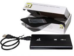 "Карман внешний 2,5"" 1stCharger Black SATA USB2.0 (HDE1STU2520B)"