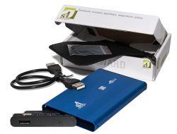 "Карман внешний 2,5"" 1stCharger Blue SATA USB2.0 (HDE1STU2520BB)"