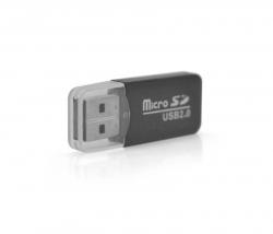 Кардридер USB2.0 Merlion CRD-1BK/01032 Black