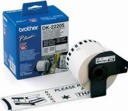 Картридж-бумажная лента Brother (DK22205) QL-1060N/QL-570, 62мм х 30,48м