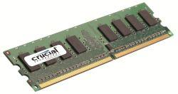 Память 2Gb DDR2, 800 MHz (PC6400), Crucial, CL6 (CT25664A800)