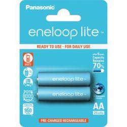 Аккумуляторы Panasonic EneloopLite AA/HR06 NI-MH 950 mAh BL 2 шт