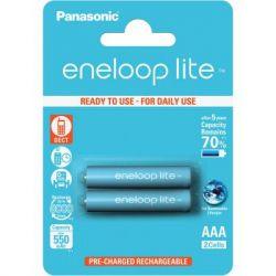 Аккумуляторы Panasonic Eneloop Lite AAA/HR03 NI-MH 550 mAh BL 2 шт